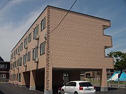 北海道北斗市七重浜2丁目の賃貸アパートの外観