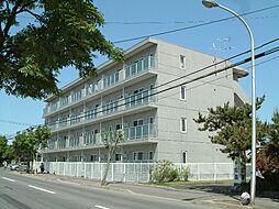 北海道函館市川原町の賃貸マンションの外観