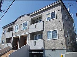 北海道函館市高丘町の賃貸アパートの外観