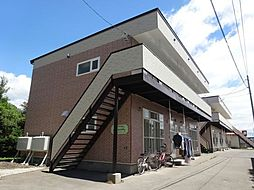 北海道函館市日吉町1丁目の賃貸アパートの外観