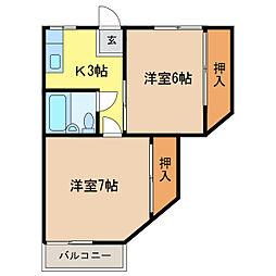 セグラ南昭和[1階]の間取り