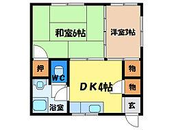 井川ビル[2階]の間取り