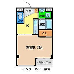 キアーズII[4階]の間取り
