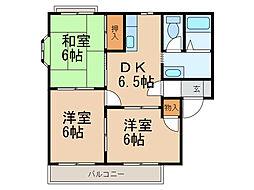 グレイスI・II(栄谷)[1階]の間取り