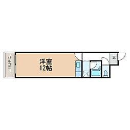センチュリーパレス泰苑[1階]の間取り