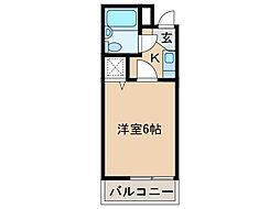 シャルマンフジ湊北町弐番館[3階]の間取り