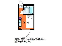 レジデンシャル西堀 E1007号 (分譲賃貸Y)[10階]の間取り