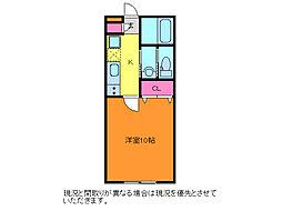 SAKASU AZABU[2階]の間取り