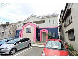 新潟県新潟市中央区鐙3丁目の賃貸アパートの外観