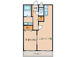 第3さくらマンション[9階]の間取り