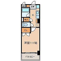第2さくらマンション[1階]の間取り