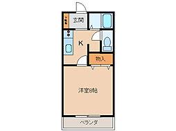 サン・friends安田IIIIII[1階]の間取り