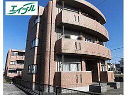 愛知県小牧市大字二重堀の賃貸マンションの外観