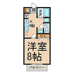 サン・friends藤島[2階]の間取り
