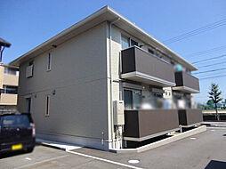 愛知県小牧市外堀1丁目の賃貸アパートの外観