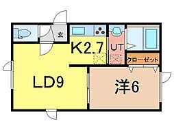 エコワンN11[2階]の間取り