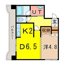 エンドレス55[8階]の間取り