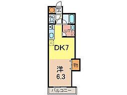 6・2ビル[7階]の間取り