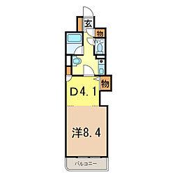 朝日プラザ旭川5条通[5階]の間取り