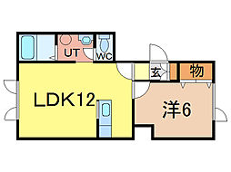 アキュート[2階]の間取り