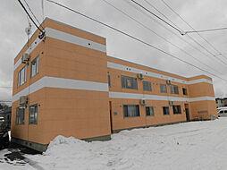 北海道旭川市神楽六条9丁目の賃貸アパートの外観