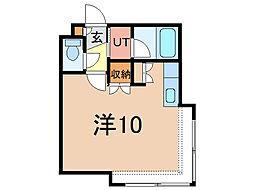 コットンハウス11[2階]の間取り