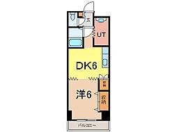 ビッグバーンズマンション[5階]の間取り