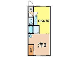 マンションダイヤ3・20[2階]の間取り