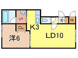 ドリームC[1階]の間取り