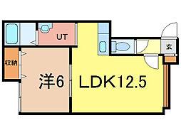 ファーレ[1階]の間取り