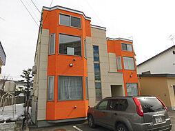 北海道旭川市六条通1丁目の賃貸アパートの外観