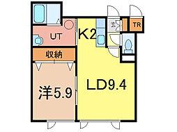 グランピア6-2[2階]の間取り
