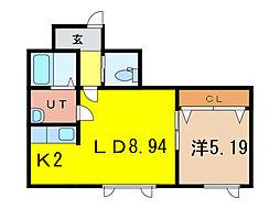 プラス52[1階]の間取り