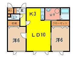 EITO2・8[1階]の間取り