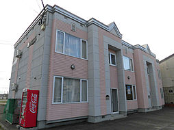 北海道旭川市緑町17丁目の賃貸アパートの外観