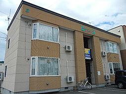 北海道旭川市二条通21丁目の賃貸アパートの外観