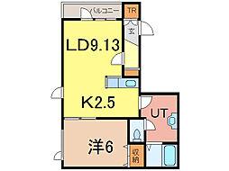 WAKE318[1階]の間取り