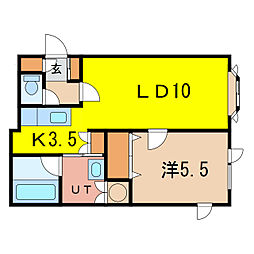 カリオンM[2階]の間取り