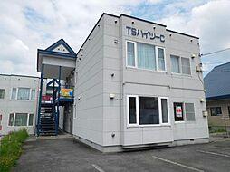 TSハイツC[1階]の外観