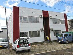 北海道旭川市神楽二条10丁目の賃貸アパートの外観