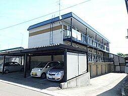 ポポロハイツ B[1階]の外観