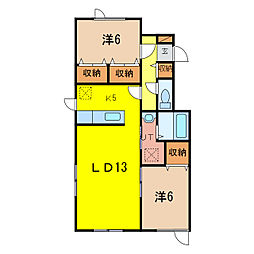 プレミア4・4 B棟[1階]の間取り