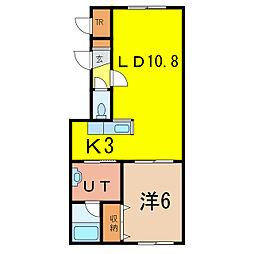 末広ウエルカム12号棟[2階]の間取り