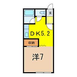 Com II[1階]の間取り