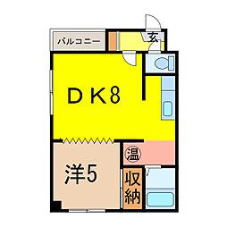MK525[3階]の間取り