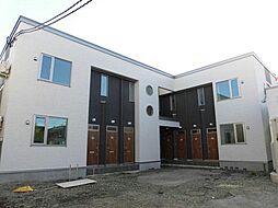 北海道旭川市二条通1丁目の賃貸アパートの外観