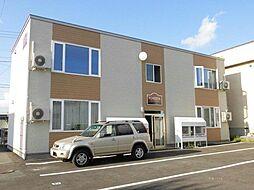 北海道旭川市豊岡二条5丁目の賃貸アパートの外観