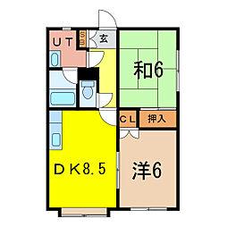 KB58[2階]の間取り