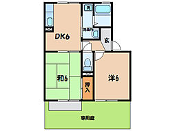 上横須賀駅 4.3万円