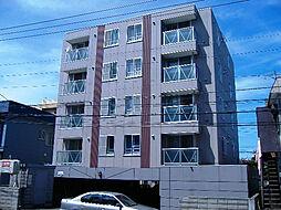北海道札幌市豊平区平岸三条15丁目の賃貸マンションの外観